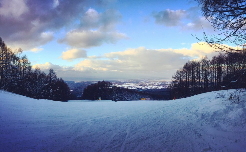 Let It Snow in AomoriSpring