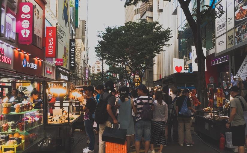Myeongdong: Skincare Mecca